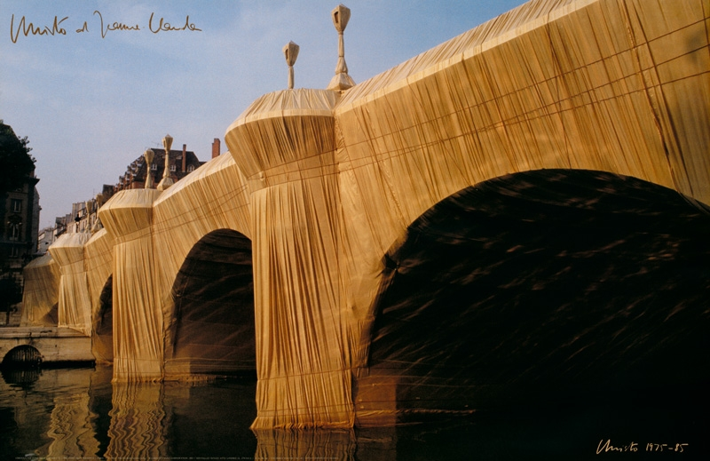 Christo - Pont Neuf No.8